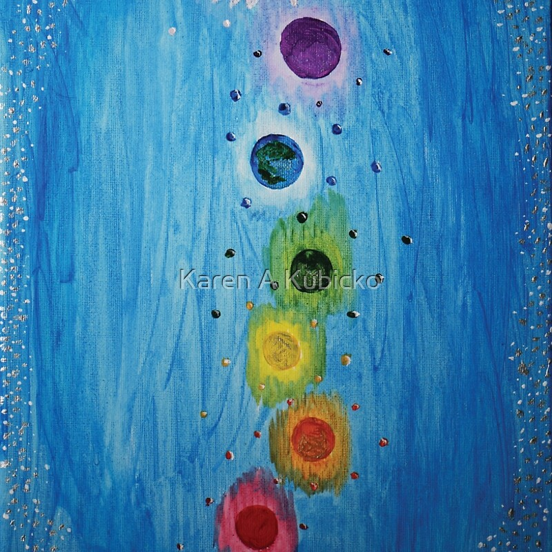 Chakras of the Universe by Karen Kubicko
