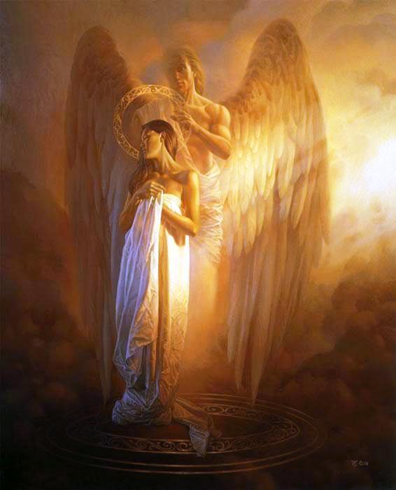 The healing angel