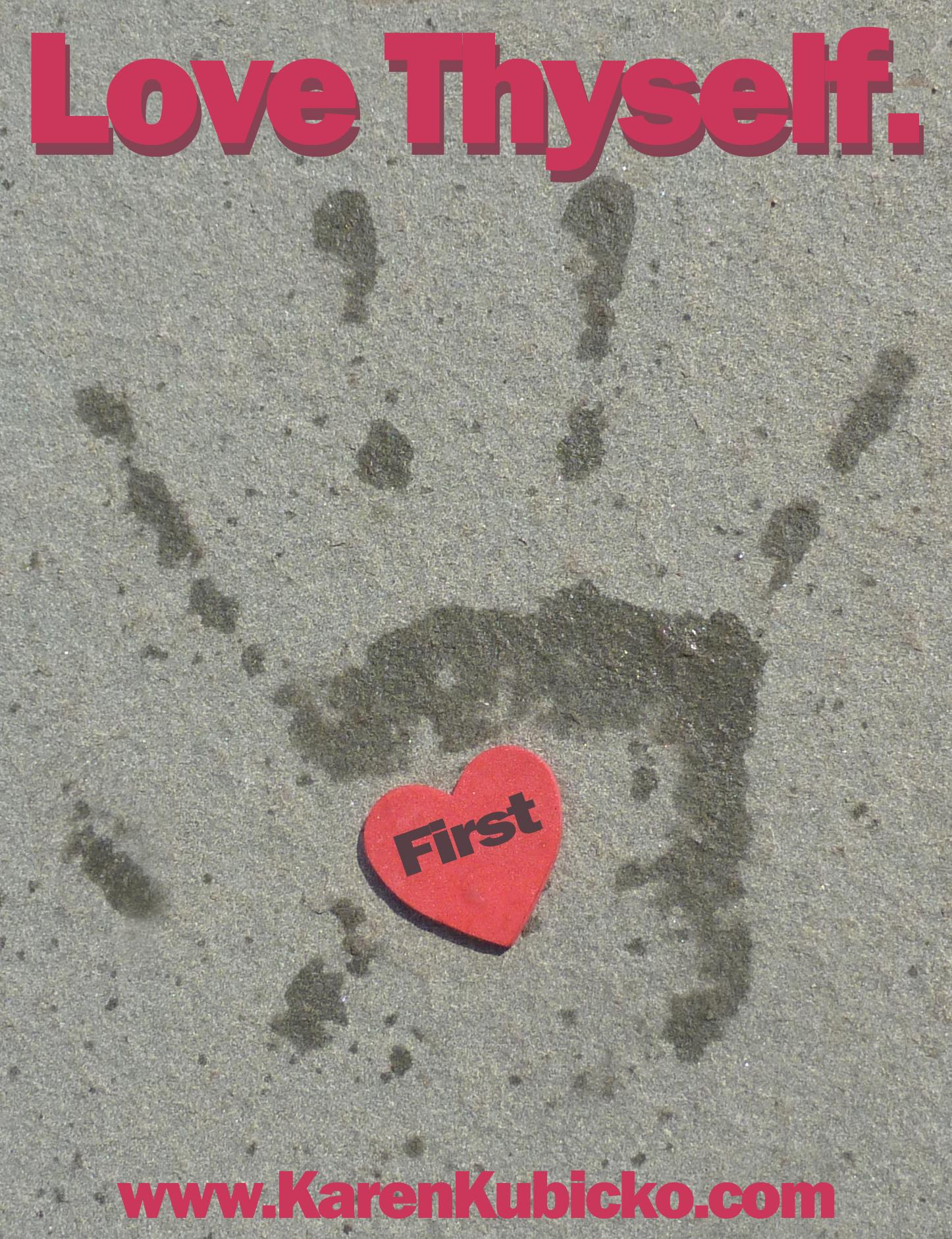 Heart in Hand-LOVE Thyself