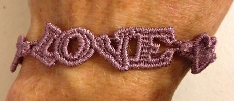 Love bracelet as a daily reminder we are LOVED