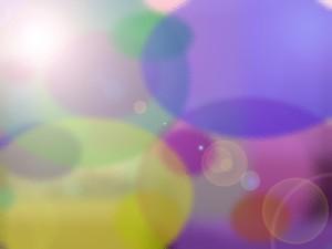 morphing kaleidoscope of colors