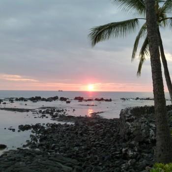 Calm Pacific Ocean in Hawai'i