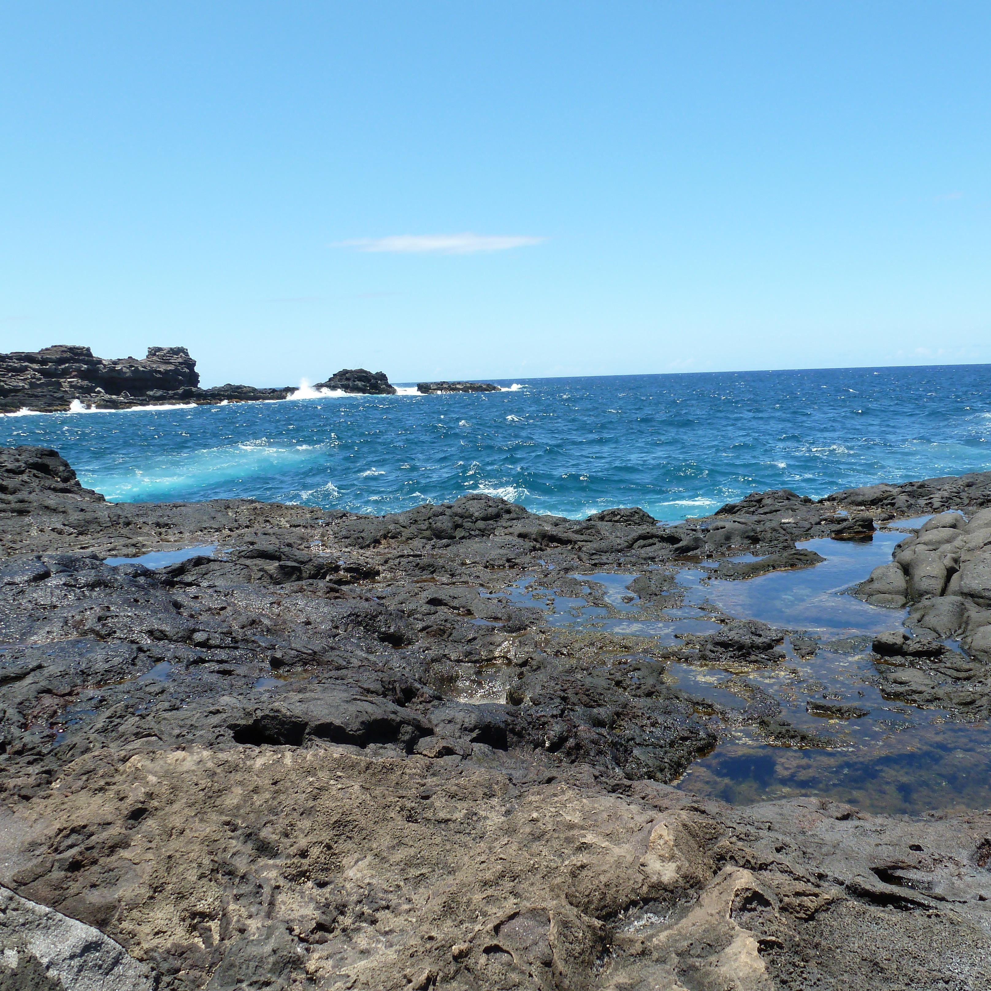 The Olivine Pool walkway in Maui