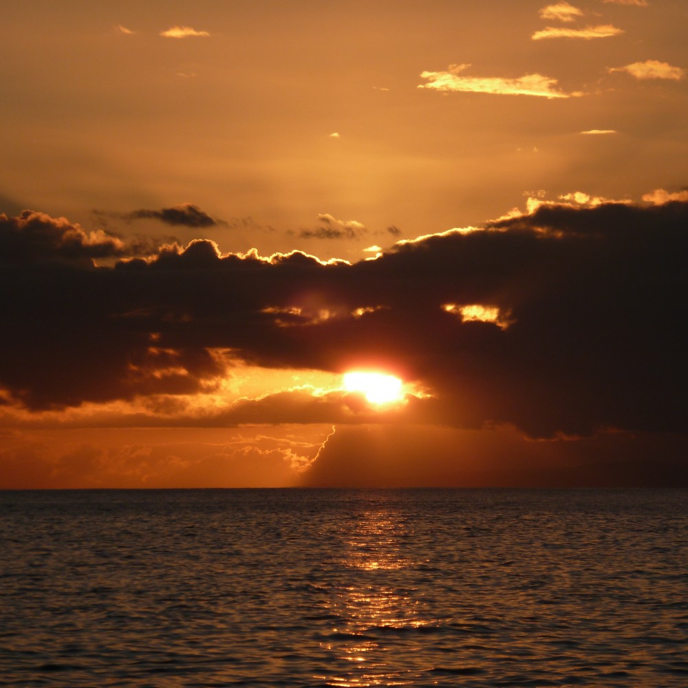 This beautiful sunset at Maui pales in comparison to the light we see after death