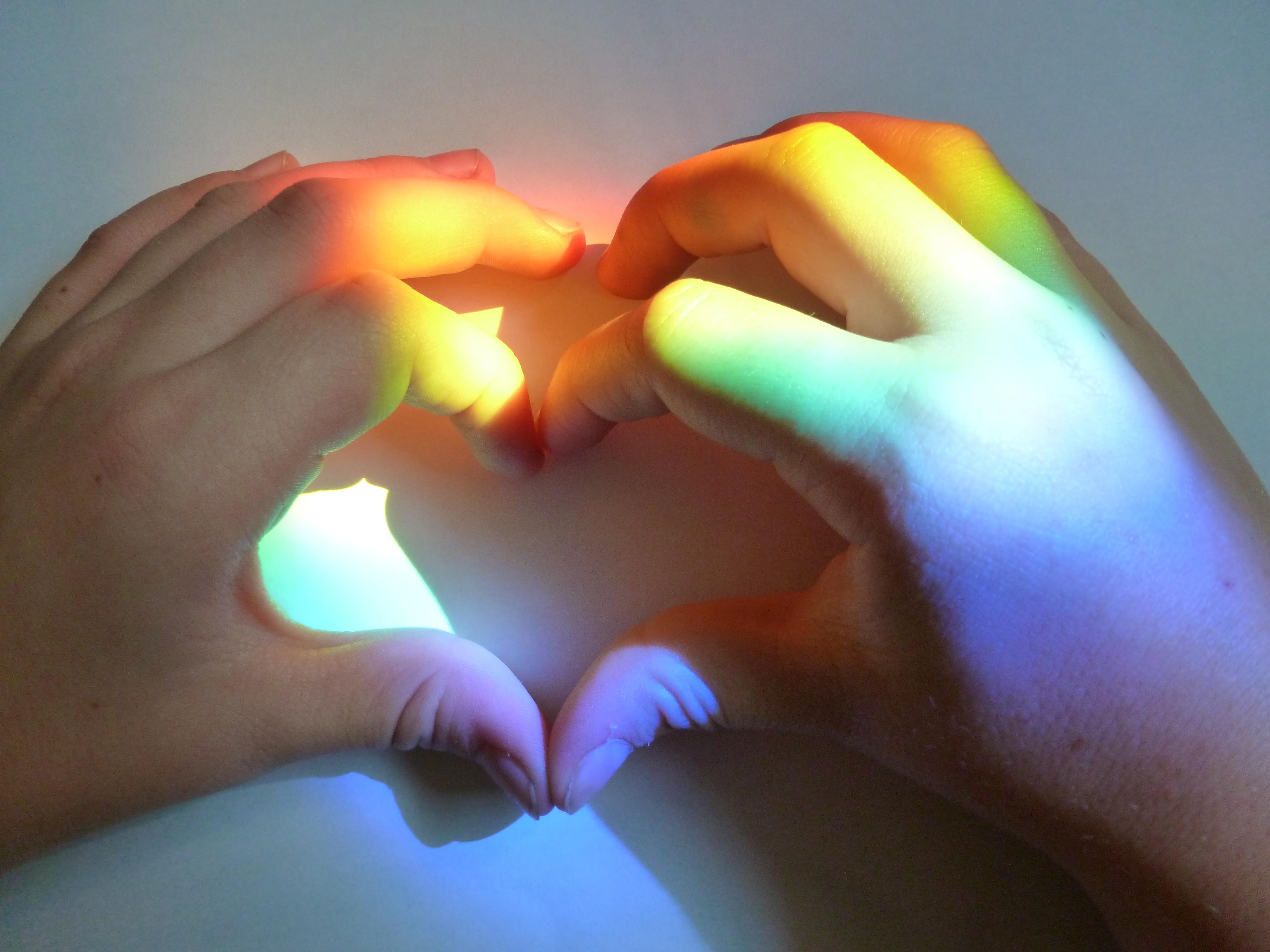 Heart-filled Rainbow