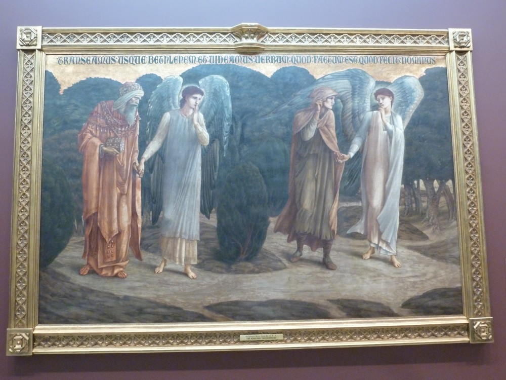 The King and the Shepherd (1888) by Sir Edward Coley Burne-Jones