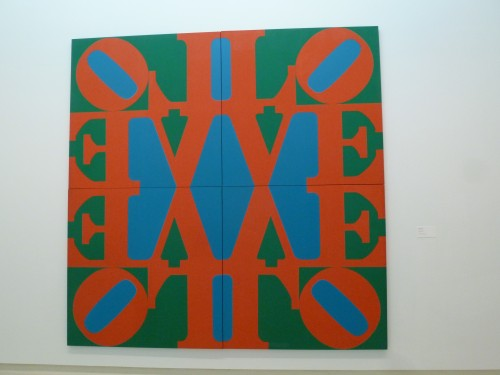 'The Great Love' by Robert Indiana