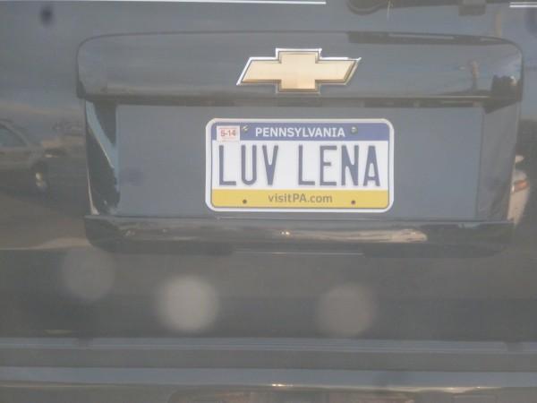 LUV LENA - Hello from Heaven