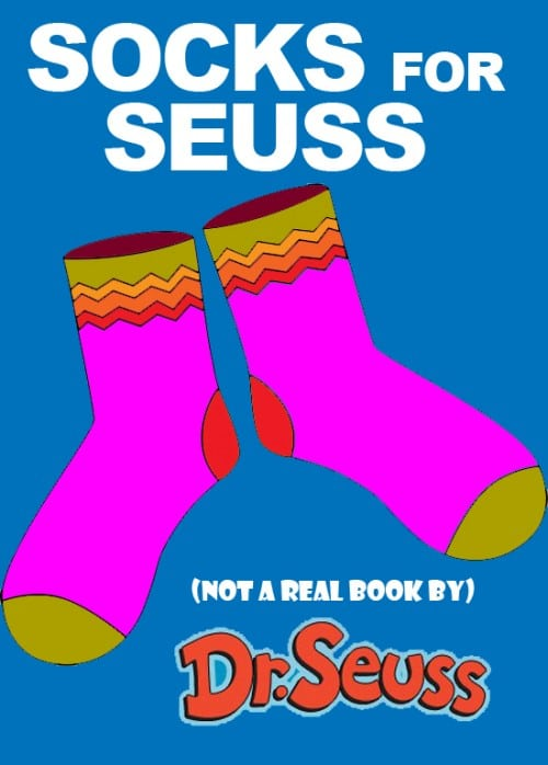 Socks for Seuss - a made-up book