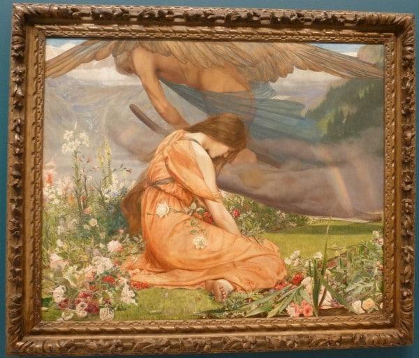 The Garden of Adonis by John Dickson Batten 1887. Angels always watch over us.